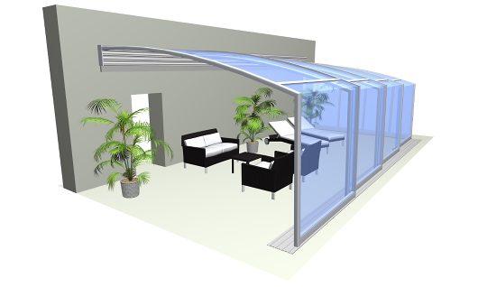 Terrassenüberdachung CORSO Solid