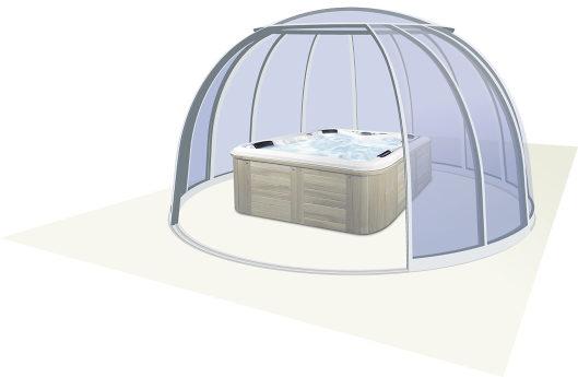 Spaüberdachung SPA Dome Orlando®