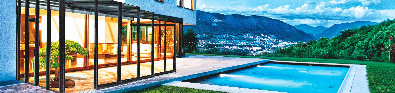 Terrasssenüberdachung CORSO Glass