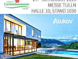 Alukov Austria auf Internationale Gartenbaumesse Tulln 2015