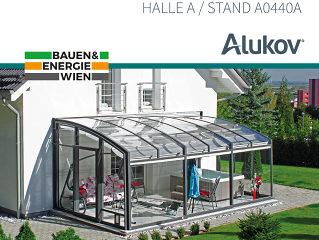 Alukov auf der Messe BAUEN&ENERGIE in WIEN!