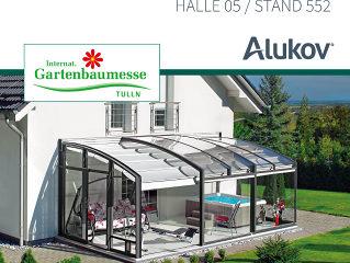 Alukov Austria auf der Gartenbaumesse Tulln 2017!