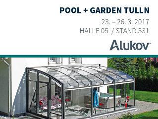 Alukov auf der Messe Pool&Garden 2017 in TULLN!
