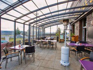 Aufschiebbare Terrassenüberdachung für Restaurant