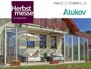 Alukov Austria auf Herbstmesse Klagenfurt