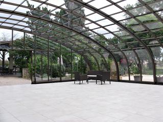 Terrassenüberdachung CORSO für Ihr HOtel, Restaurant oder Kaffee