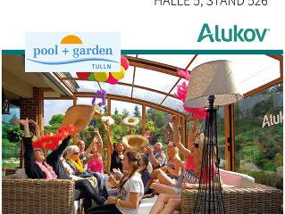 Alukov Austria auf der pool+garden Tulln 2016