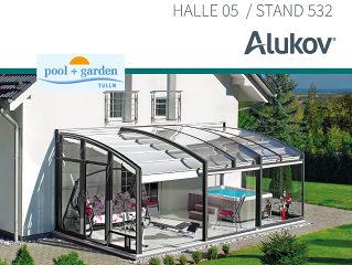 ALUKOV auf der pool + garden in Tulln 2018