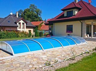 Poolüberdachung Azure Flat (1)