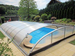 Poolüberdachung Azure Flat (5)