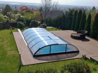 Poolüberdachung Azure Flat (9)