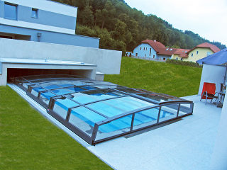 Überdachung für Schwimmbad CORONA™