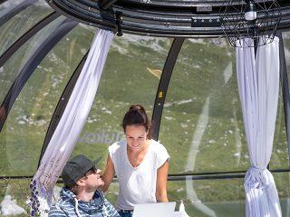 Spa dome Orlando TEILWEISE AUFGESCHOBEN