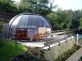 Optimale Lösung für das Überdachen Ihres Whirlpools