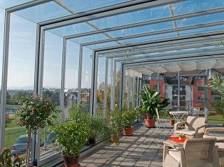 Terrassenüberdachung CORSO Glass von Alukov - HORECA überdachung