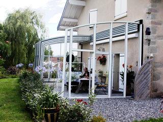 Überdachungsmodell für Terrasse CORSO von Alukov