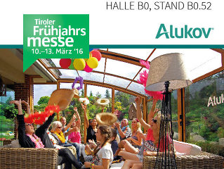 Alukov Austria auf Tiroler Frühjahrsmesse Innsbruck
