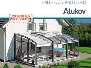 ALUKOV AUSTRIA auf der WOHNEN&INTERIER MESSE 2018 in Wien