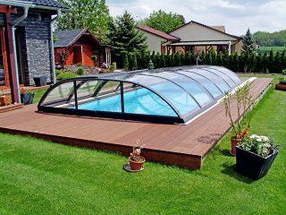 Zastřešení bazénu Azure Flat Kompakt