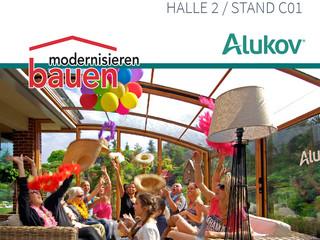 Alukov Schweiz auf Bauen&Modernisieren Zürich 2016