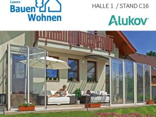 Alukov Schweiz auf Bauen + Wohnen Luzern 2015