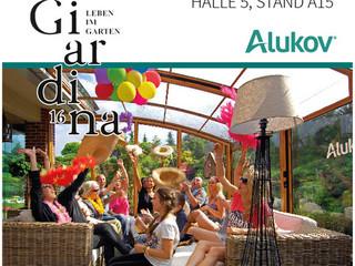 Alukov Schweiz auf Giardina Zürich 2016