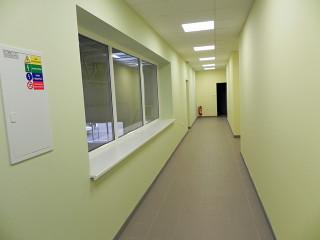 Innenraum im Forschungszentrum bei ALUKOV ist auch schonfertig