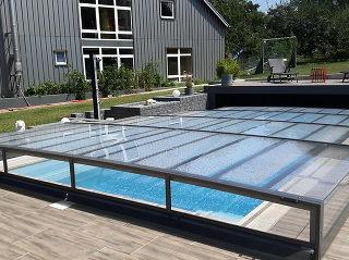 Motorisierte Pool-Überdachung Terra