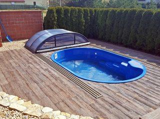 Poolüberdachung Azure Flat (2)