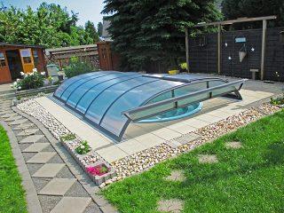 Poolüberdachung Azure Flat (6)