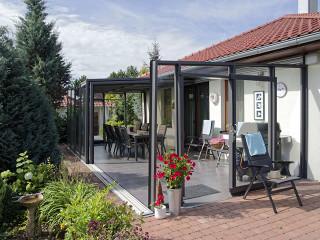 Saison-Wintergarten bietet den zusätzlichen Raum für Ihr Haus