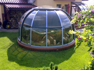 Überdachung | SPA DOME ORLANDO® - Small