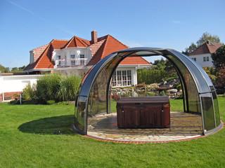 Whirlpoolüberdachung ORLANDO passt in jeden Garten