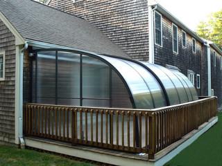 Bewegliche Balkonüberdachung CORSO Entry