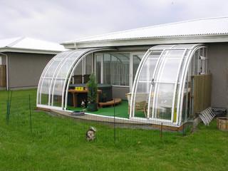 Verwenden Sie Ihre Terrasse auch beim Regen mit ALUKOV-Überdachungen
