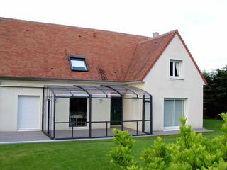 Die leicht verschiebbare Überdachung CORSO Premium von ALUKOV bringt Ihnen eine ganzjährige Nutzung der Terrasse