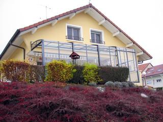 Sehr praktischer aufschiebbarer Kalt-Wintergarten CORSO von ALUKOV Schweiz