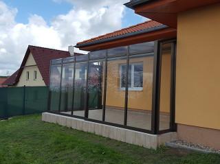Zeitlose Schiebeüberdachung für Ihre Terrasse CORSO Premium