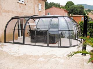 Hot tub enclosure OASIS by Alukov - 05