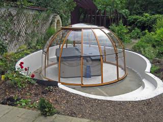 Hot tub enclosure SPA DOME ORLANDO by Alukov