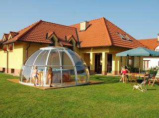Openable hot tub enclosure SPA DOME ORLANDO