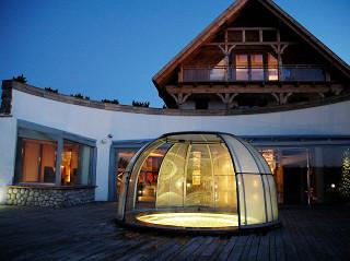Hot tub enclosure SPA DOME ORLANDO 02