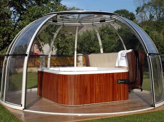 Hot tub enclosure SPA DOME ORLANDO 13