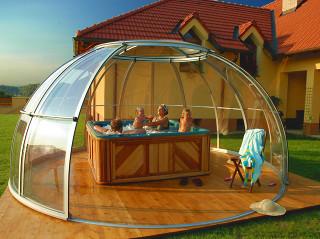 Hot tub enclosure SPA DOME ORLANDO 15