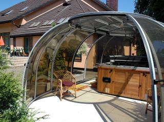 Hot tub enclosure SPA SUNHOUSE