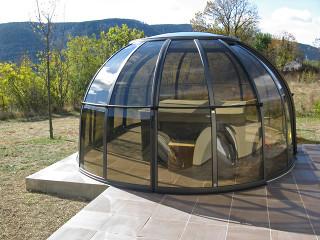 Hot tub enclosure SPA SUHOUSE - sunroom 07