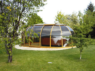 Hot tub enclosure SPA SUHOUSE - sunroom 08