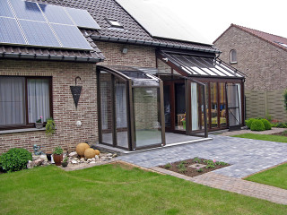 Terrace enclosure CORSO fits great to your house