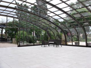 Patio cover CORSO Horeca - retractable