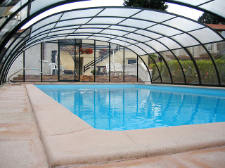 Inground swimming pool enclosure LAGUNA